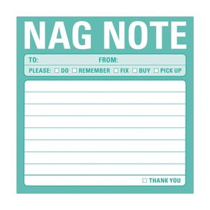 Lepiace papieriky Nag Note
