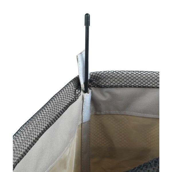 Sivobéžový kôš na bielizeň Wenko Corno, 44,4 l