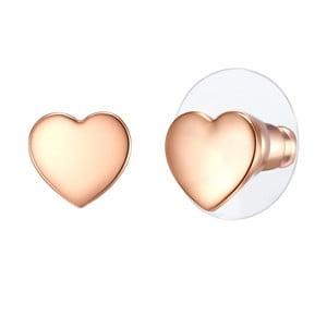 Dámske naušnice v farbe ružovej zlata Runaway Elirado