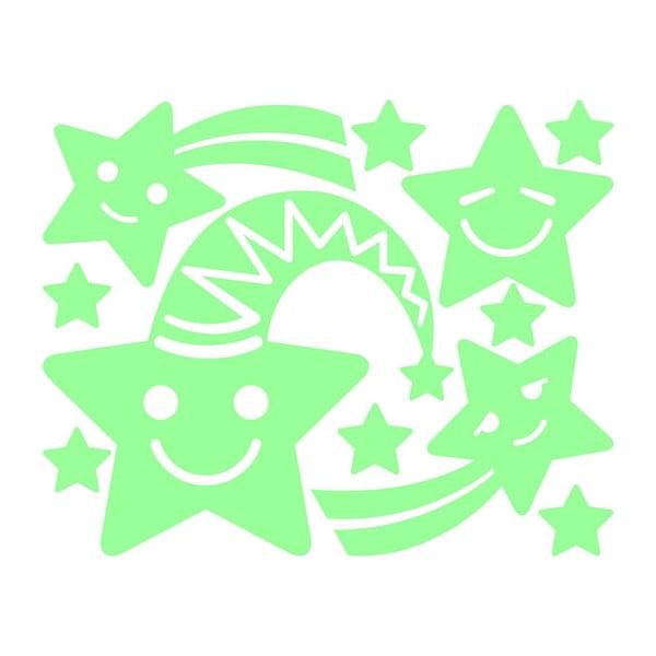 Svietiaca samolepka Fanastick Smiling Stars