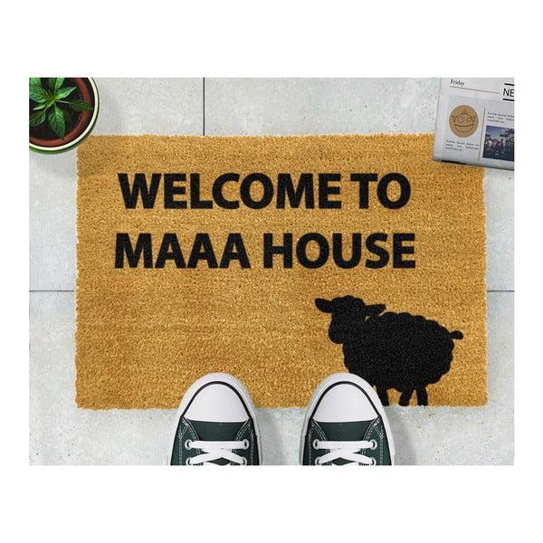 Rohožka Artsy Doormats Welcome to Maaa House, 40x60cm