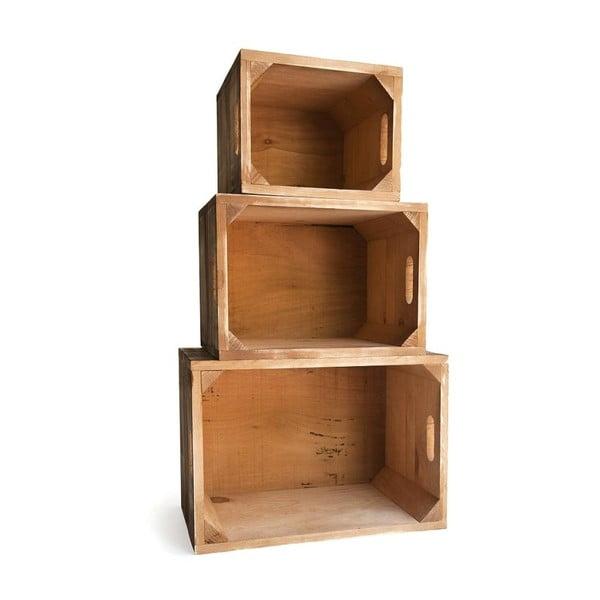 Sada drevených boxov Really Nice Things 1945