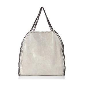 Kožená kabelka Mhairi, béžová