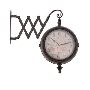 Dvojstranné nástenné hodiny InArt Side