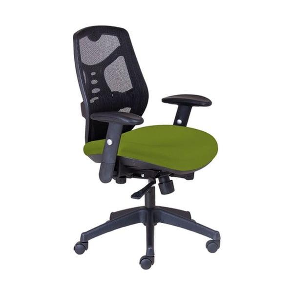 Kancelárske kreslo Norton L, zelené