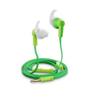 Vodoodolné slúchadlá Cellularline VOYAGER, zelené