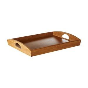 Bambusový servírovací podnos Premier Housewares Rustic Brown