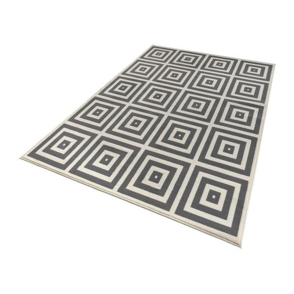 Sivo-biely koberec Hanse Home Mono, 160×230cm
