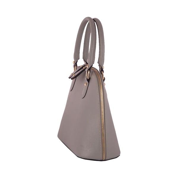 Sivá kabelka z pravej kože Andrea Cardone Letizia