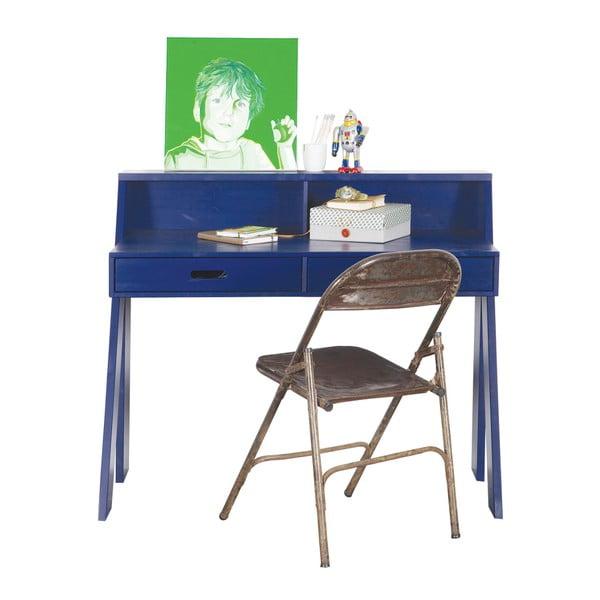 Pracovný stôl Max, tmavomodrý