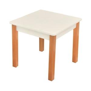 Biely detský stolík Mobi furniture Mario