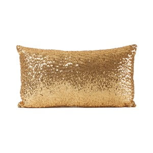 Flitrovaný vankúš Shiny Gold, 33x57 cm