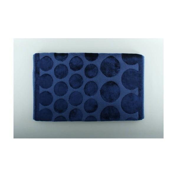 Modrá kúpeľňová predložka U.S. Polo Assn. Orem, 60 x 100 cm