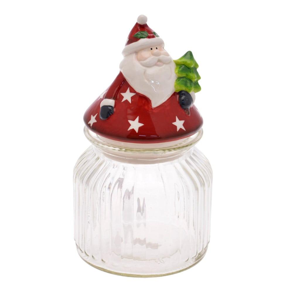 Dóza s vianočným motívom Unimasa Santa