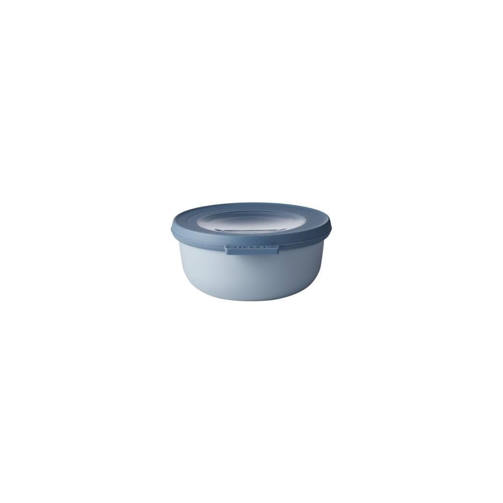 Modrá miska s viečkom Rosti Mepal Nordic, 350 ml