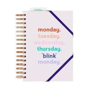 Zápisník Yes studio Monday Blink, 200 strán