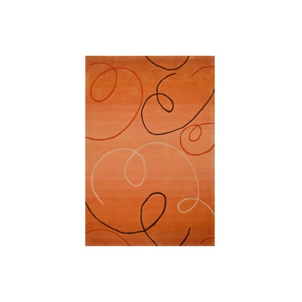 Ručne tkaný koberec Pluto, 170x240 cm, zlatistý
