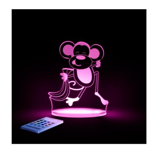 Detské LED nočné svetielko Aloka Monkey