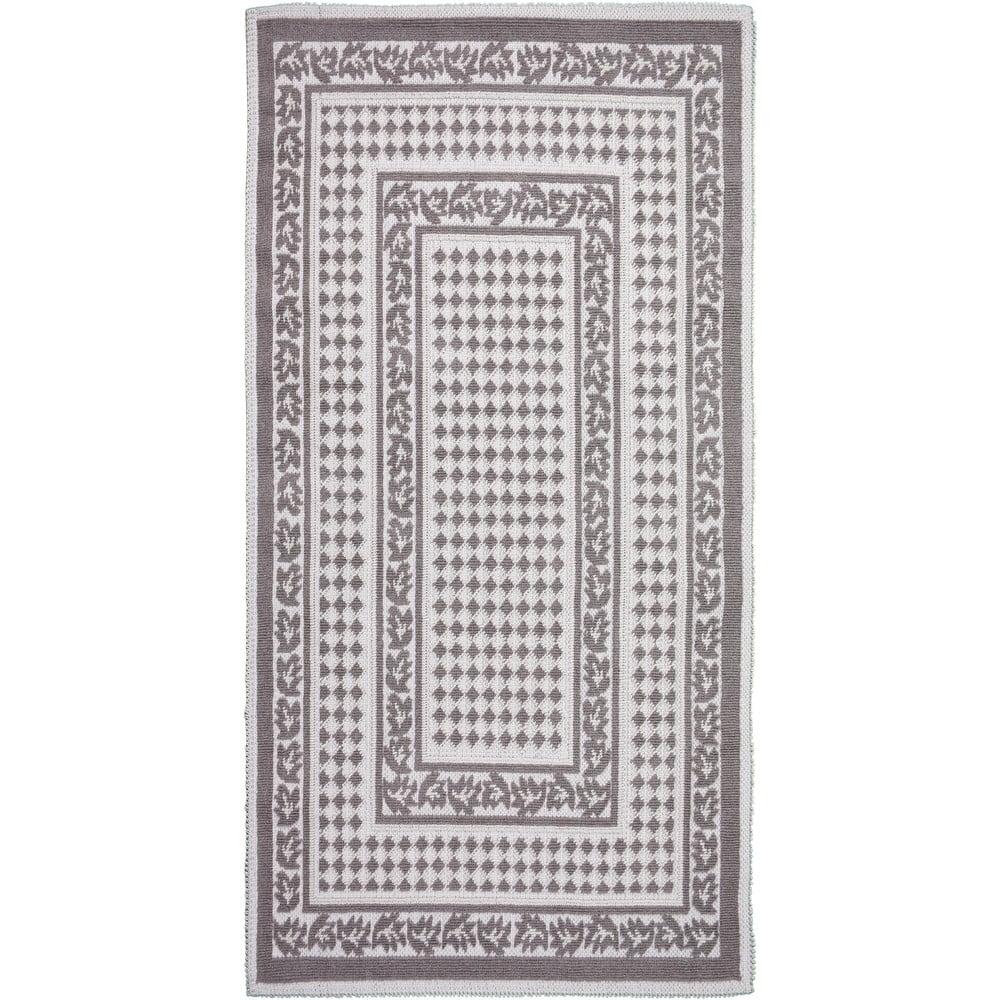 Sivobéžový odolný koberec Vitaus Olivia, 100 x 150 cm