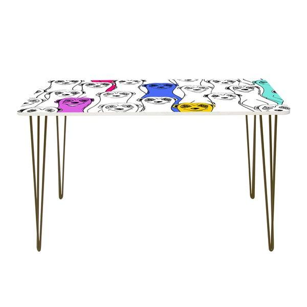 Pracovný stôl Group Of Meerkats