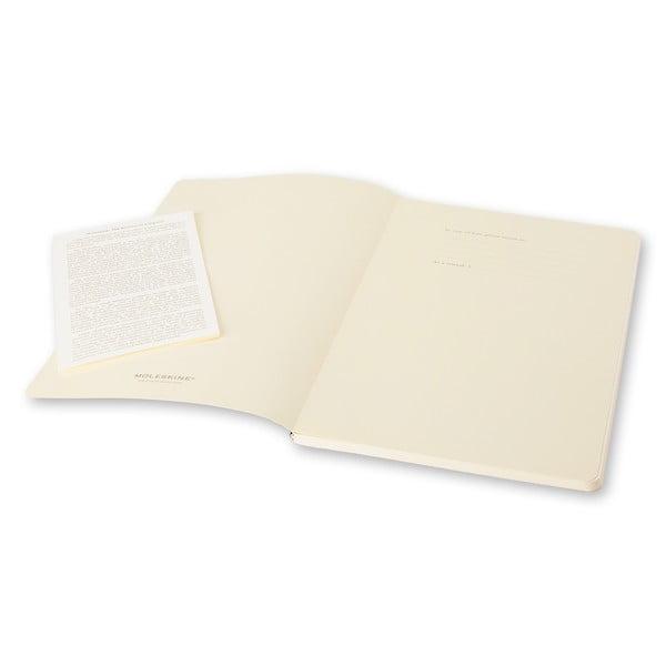 Sada 2 notesov Moleskine Volant 11x7 cm, šedá