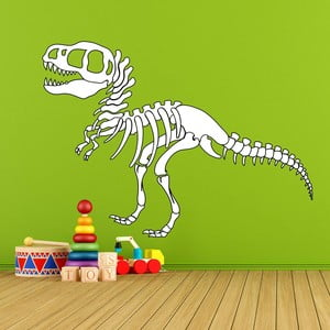 Samolepka na stenu T-Rex Skeleton