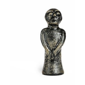 Čierna keramická soška Simla Soul, výška 30 cm