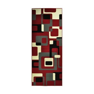 Červený koberec Hanse Home Hamla Retro, 80x150 cm