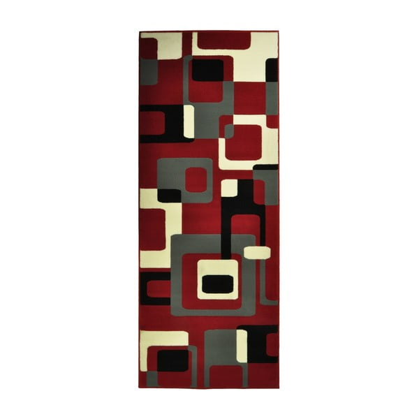 Červený koberec Hanse Home Hamla Retro, 120x170 cm
