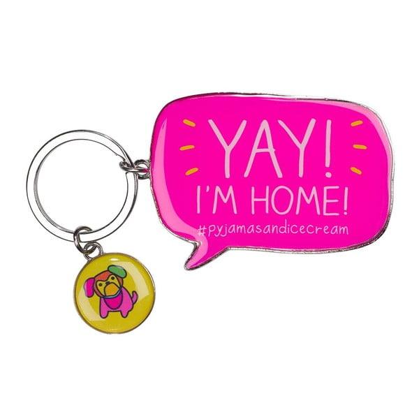 Kľúčenka Happy Jackson Yay! I´m Home