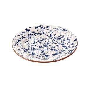 Keramický tanier Parlane Blue Art, 22cm