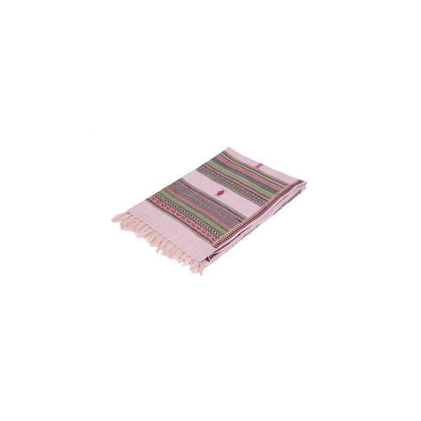 Šatka/prikrývka Manton Rosa, 120x240 cm
