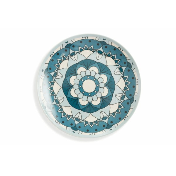 18-dielna sada farebného riadu z porcelánu a kameniny Villa d'Este Mykonos Saona