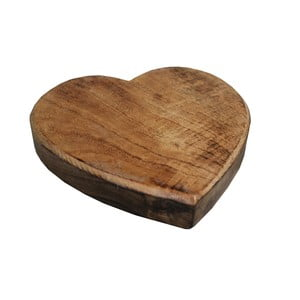 Drevená podložka pod hrniec Antic Line Heart