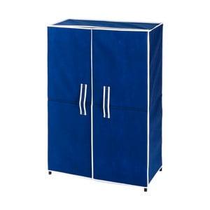 Modrá skrinka na 15 párov topánok Wenko Ocean