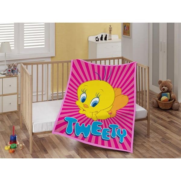 Detská deka Tweety, 110x140 cm