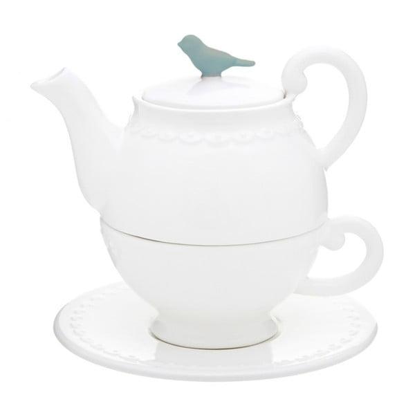 Sada čajovej konvice, šálky s tanierikom Flight of Fancy