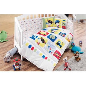 Set detských obliečok a plachty Fun Game, 100x150 cm
