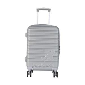 Svetlosivá palubná batožina na kolieskách Travel World Aiport, 44 l