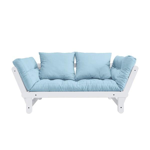 Rozkladacia pohovka Karup Design Beat White/Light Blue