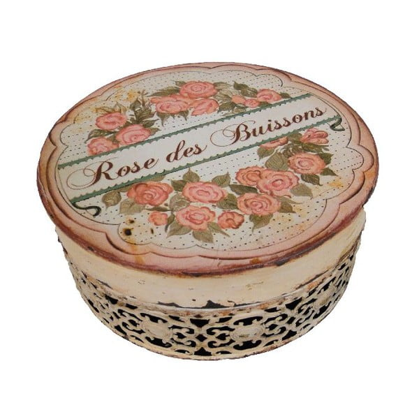 Okrúhly box Antic Line Rose des Buissons