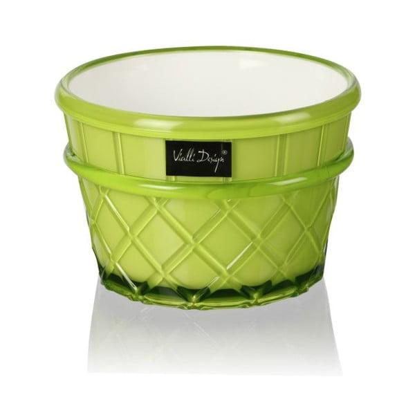Pohár na dezert Livio, 266 ml, zelený