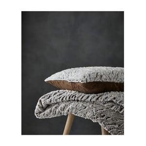 Sivý pléd Catherine Lansfield Furry, 150×200 cm