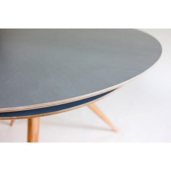 Sivý jedálenský stôl Ragaba Triad
