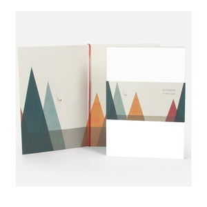 Poznámkový blok U Studio Design Natadora, 14,5×20,5 cm