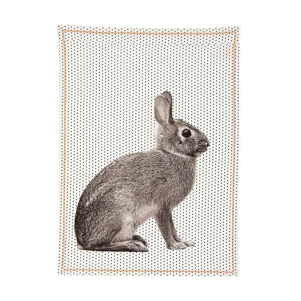 Kuchynská utierka Dotty Rabbit, 50x70 cm