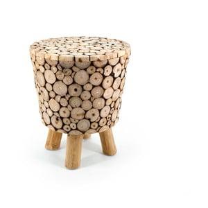 Stolička z teakového dreva Moycor Marsella Spheres