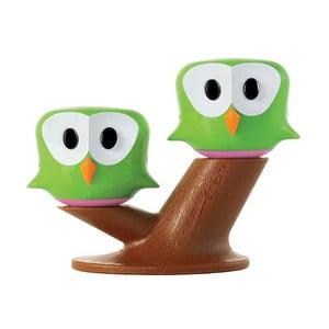 Zelená soľnička s koreničkou e-my