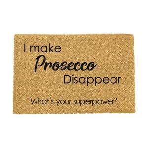 Rohožka Artsy Doormats I Make Prosecco Disappear, 40 × 60 cm
