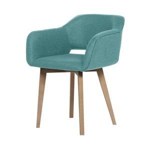 Svetlomodrá jedálenská stolička My Pop Design Oldenburg